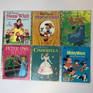 Vintage Disney Classics-Super Old But In Lovely Condition